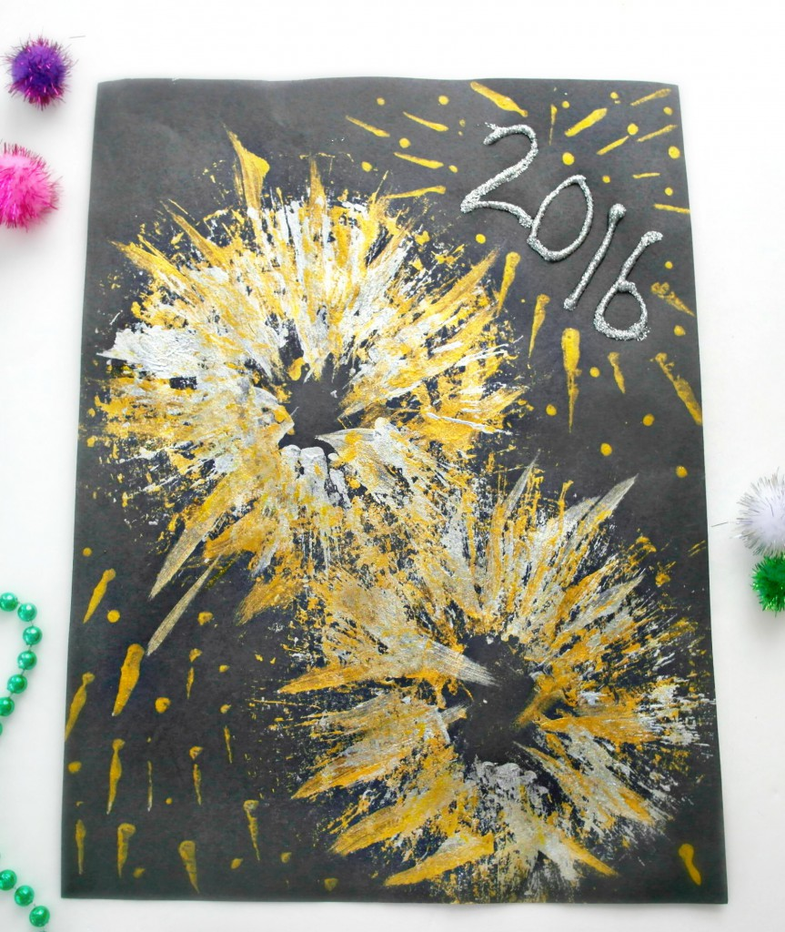 Art And Craft Ideas For New Years