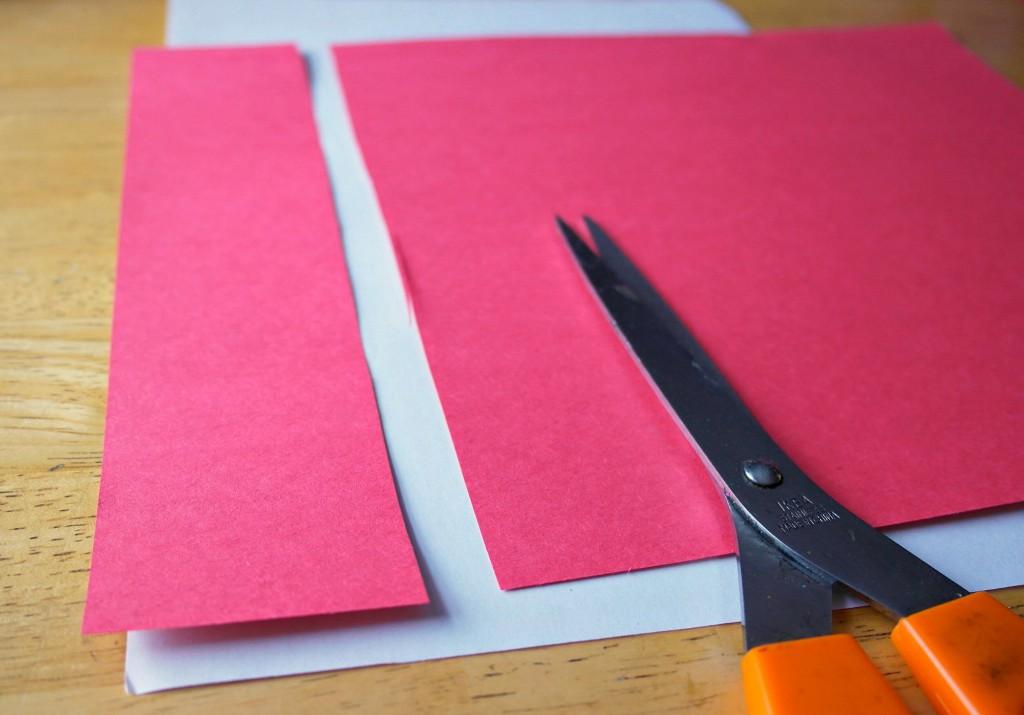 Valentines Thumbprint Heart Bookmark materials
