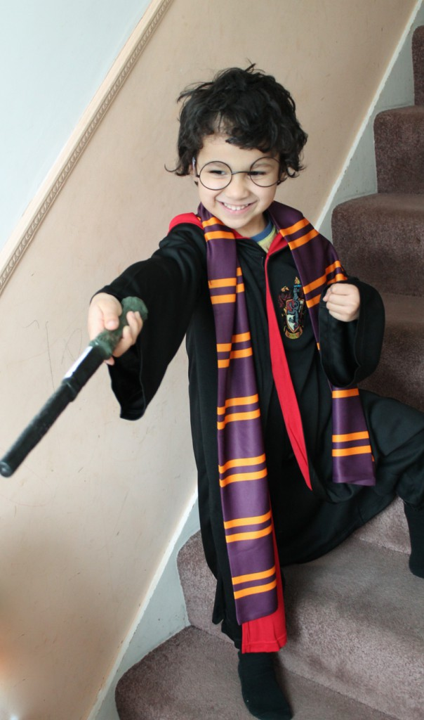 harry potter costume for world book day