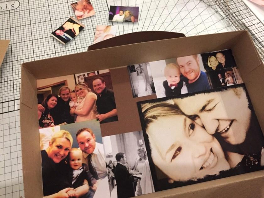 personalised photo suitcase
