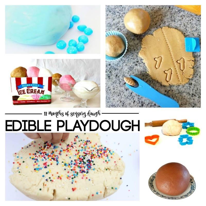 edible playdough recipes