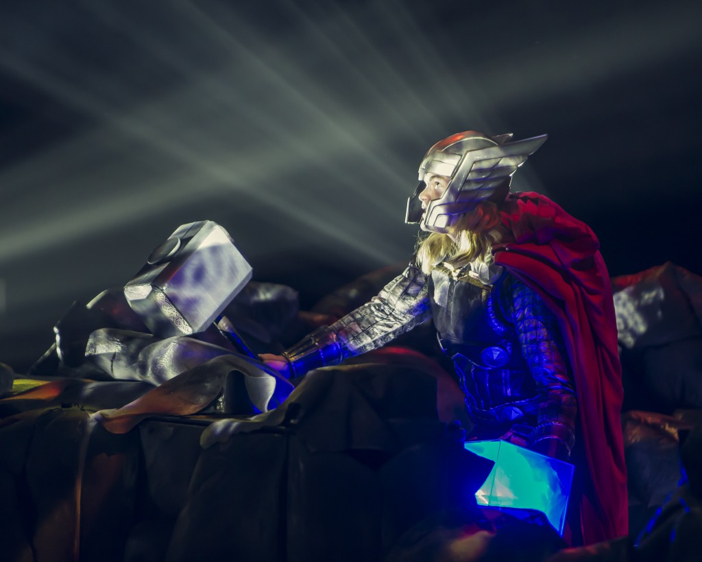 thor in marvel universe live