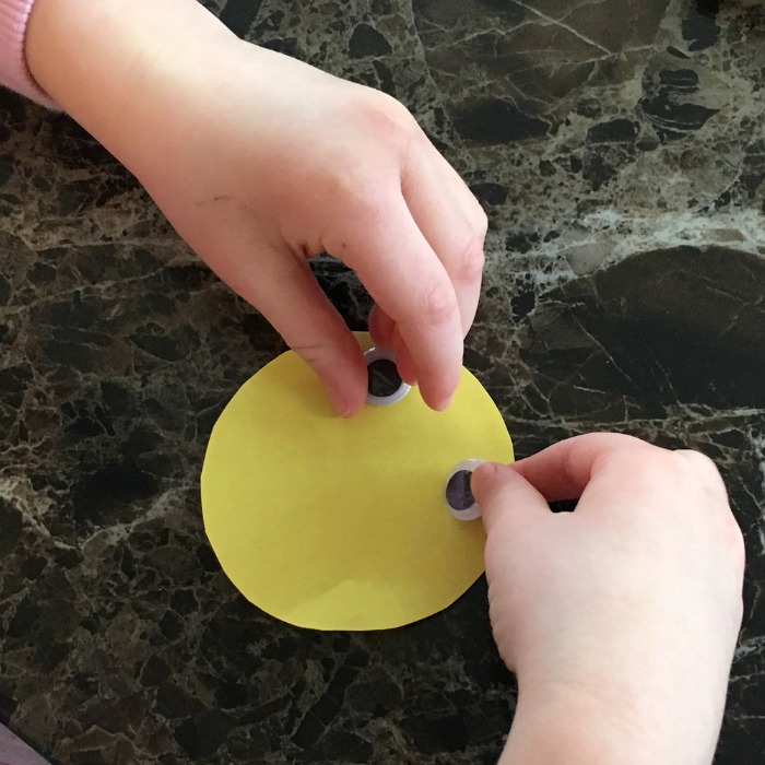 making a chick craft