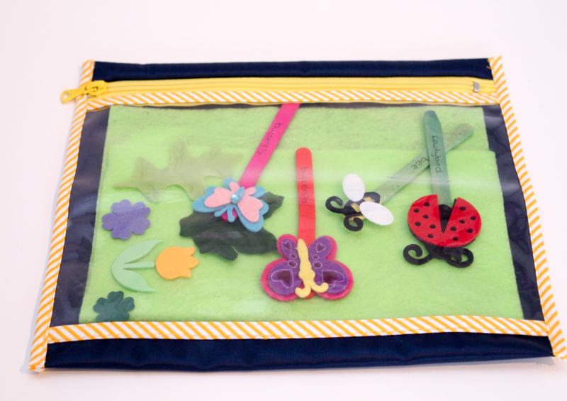 garden busy bag