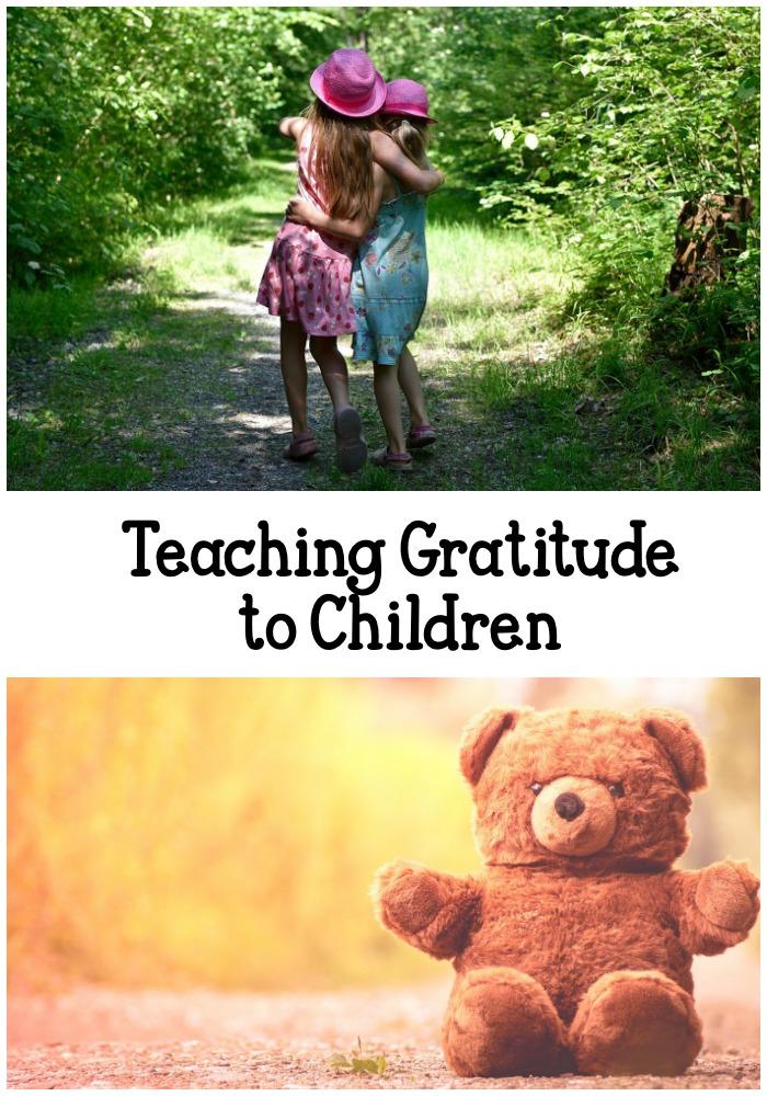 tips on teaching gratitude to children
