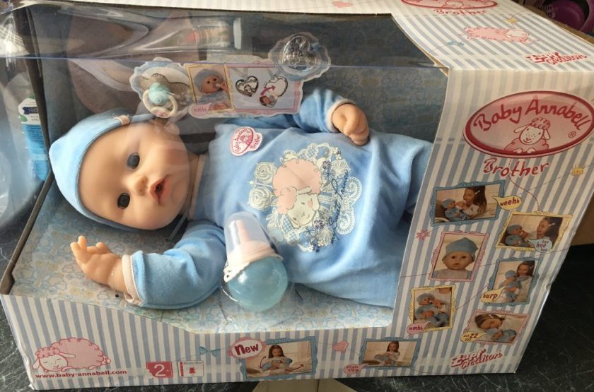 baby annabel brother doll
