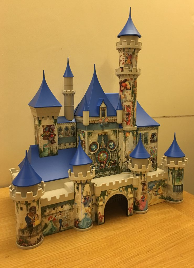 Ravensburger 3D Puzzle Disney Castle Review - In The Playroom