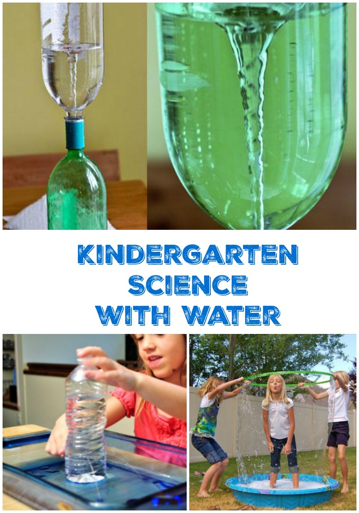 fun water science ideas for kindergarten age kids