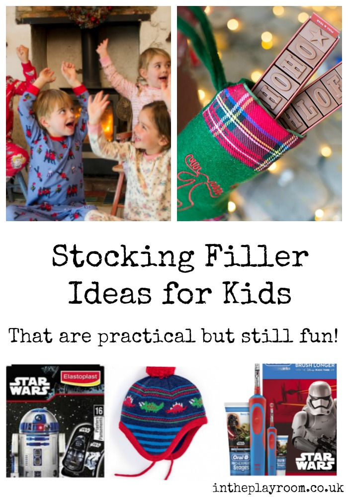 stocking filler ideas for kids that are practical and useful but still fun