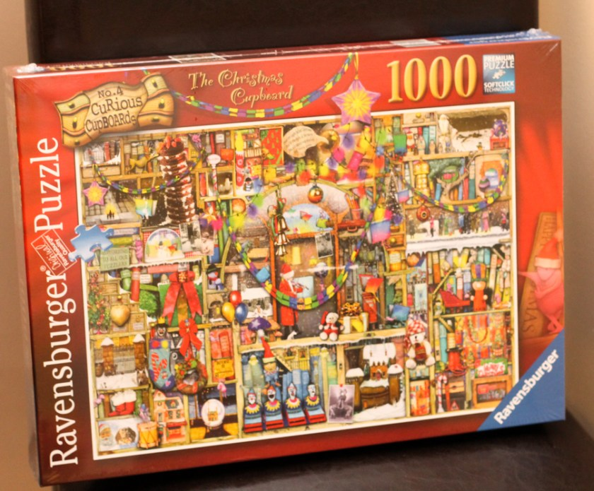 Ravensburger The Curiosity Cupboard Christmas puzzle