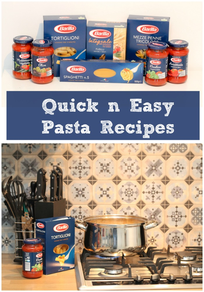 quick n easy pasta recipes for busy week nights, kid friendly
