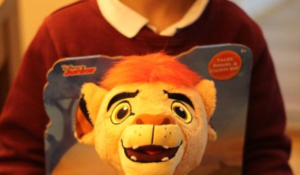 Lion Guard Talking Plush Kion Review
