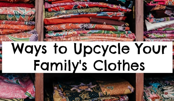 5 Easy Ways To Extend The Life Cycle Of Your Family's Wardrobe