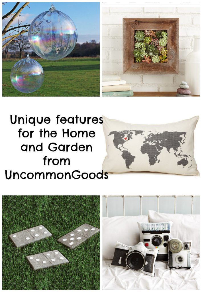 unique features for the home and garden from UncommonGoods an ethical sustainable store with handmade and recycled items