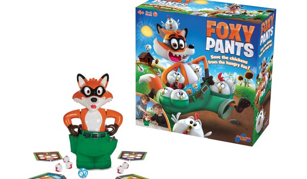 Foxy Pants Game Review & Giveaway