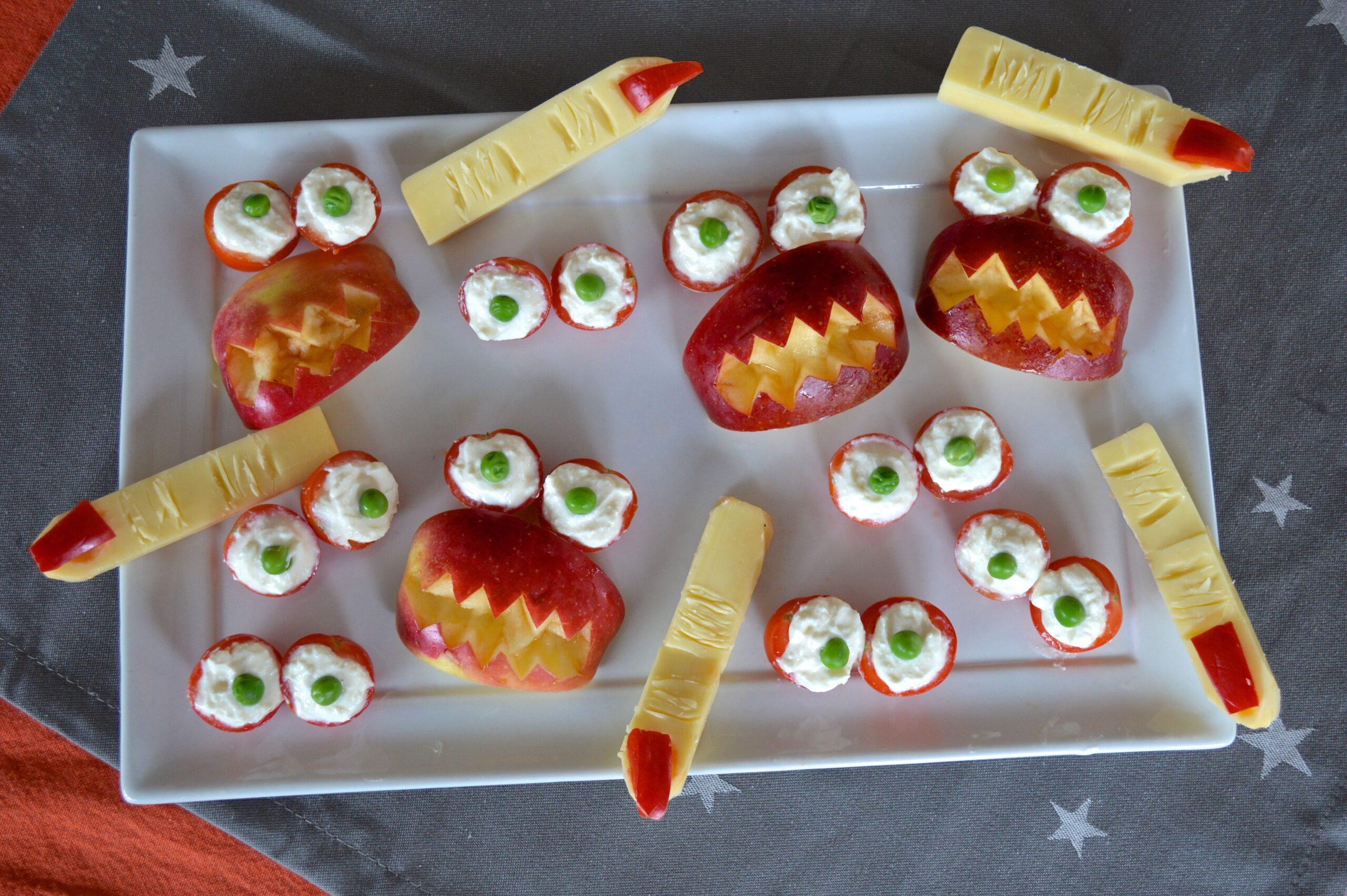 Edible Eyeballs Halloween Party Food for Kids