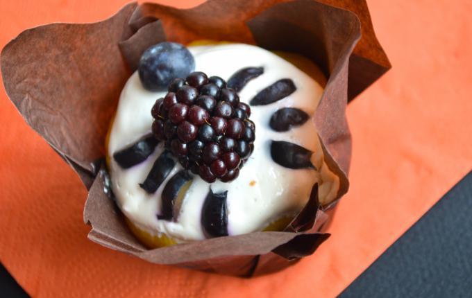 spider muffin for halloween