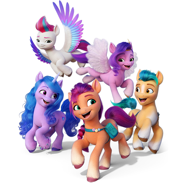 my little pony a new generation characters new ponies