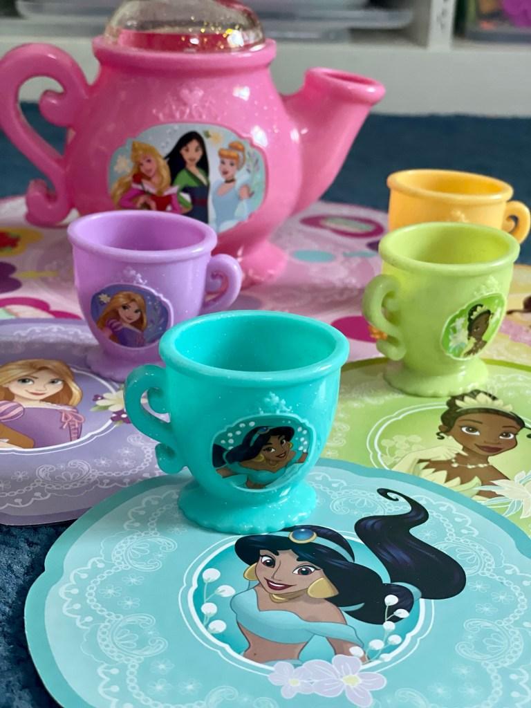 disney princess tea party game