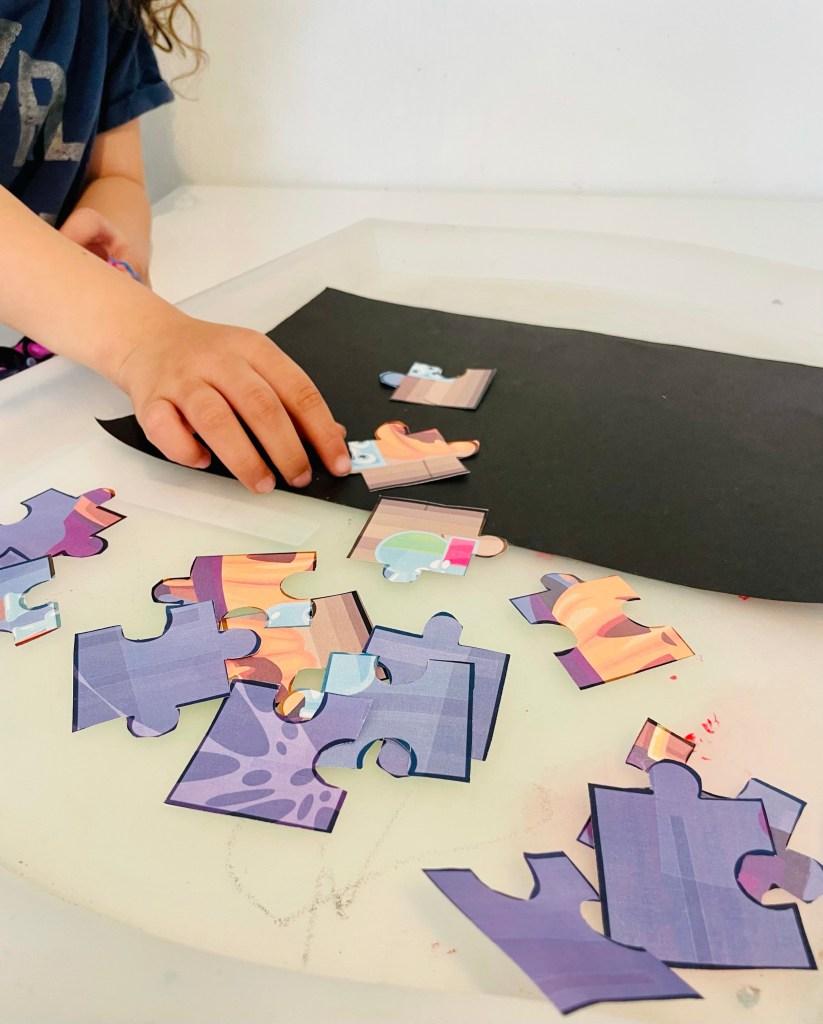 printable puzzle craft