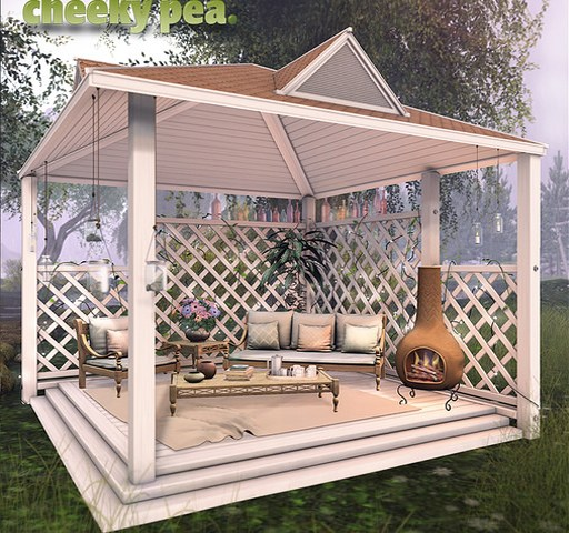 Carolyn Gazebo Set
