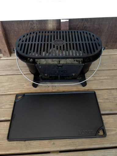 Review  The Lodge Cast Iron Sportsman s Grill   ITRH Urban Survival IMG 5645      0210131219
