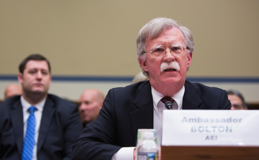 Image result for photos of john bolton hr mcmaster