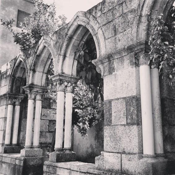 Evora, Outside of Chapel of Bones.