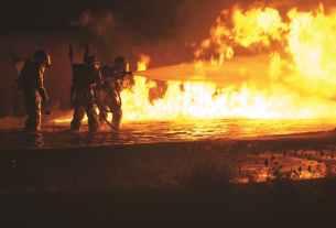 fire firefighters firemen flame