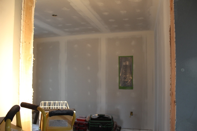Master bedroom ready for primer