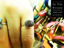 Hand-Made-Silver-Rings-with-Stone-Settings-on-Fingers