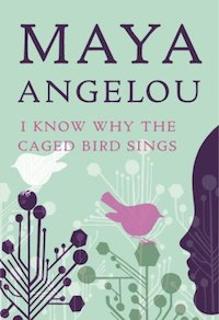 book cover for May Angelou - I know why the caged bird sings