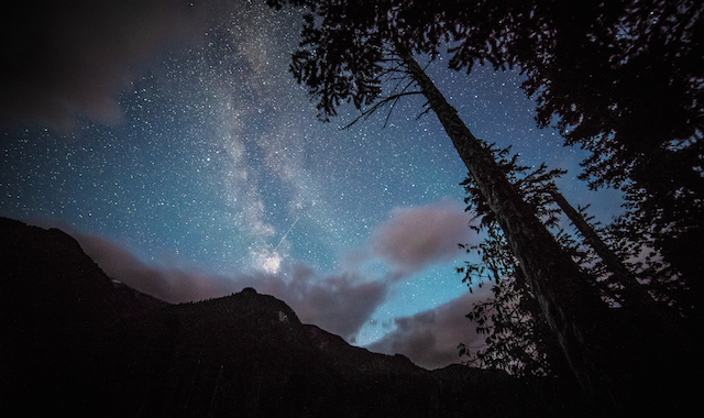 Edge of the Milky Way, Pemberton, BC - by  Abhimanyu