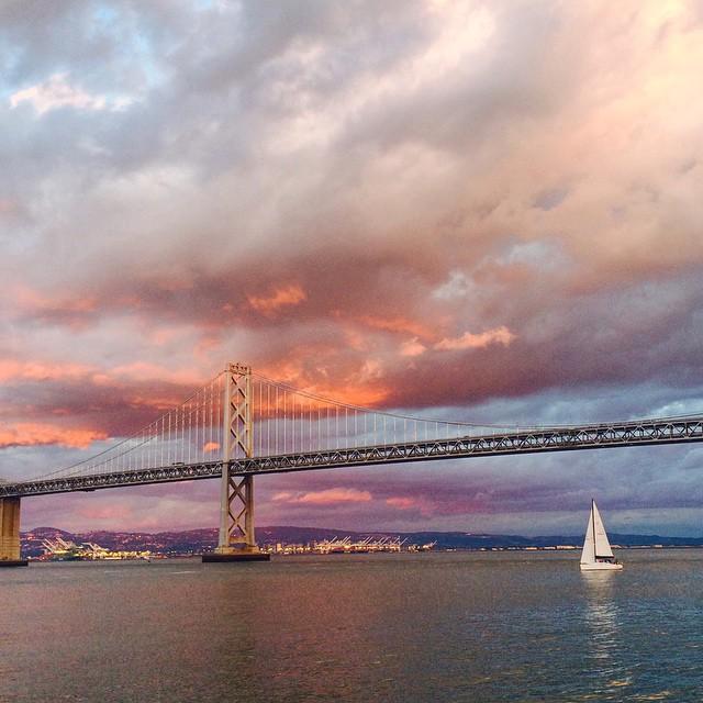 San Francisco Sunset Rainbow