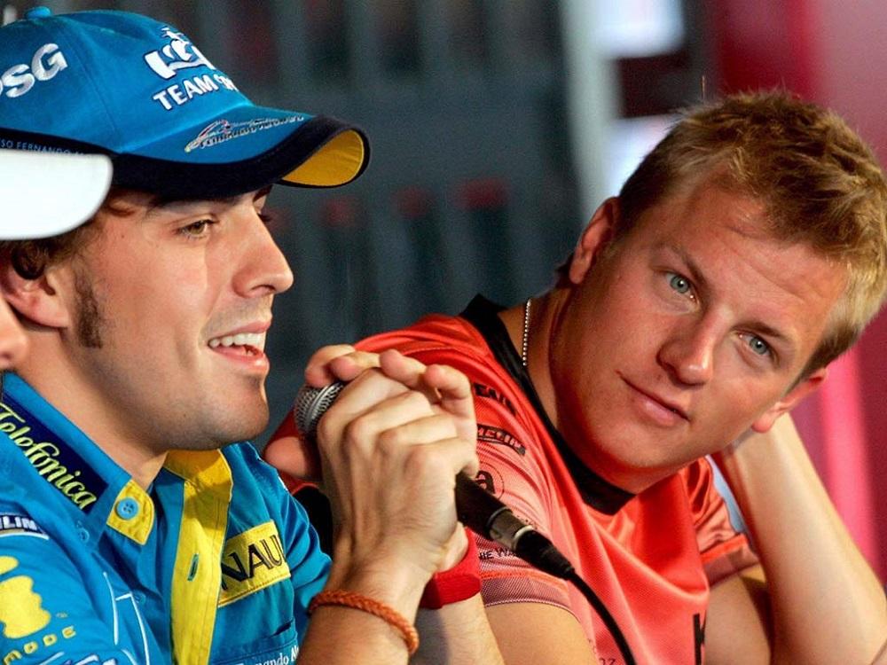 Aλόνσο και Ράικονεν στα... νιάτα τους, εν έτει 2005