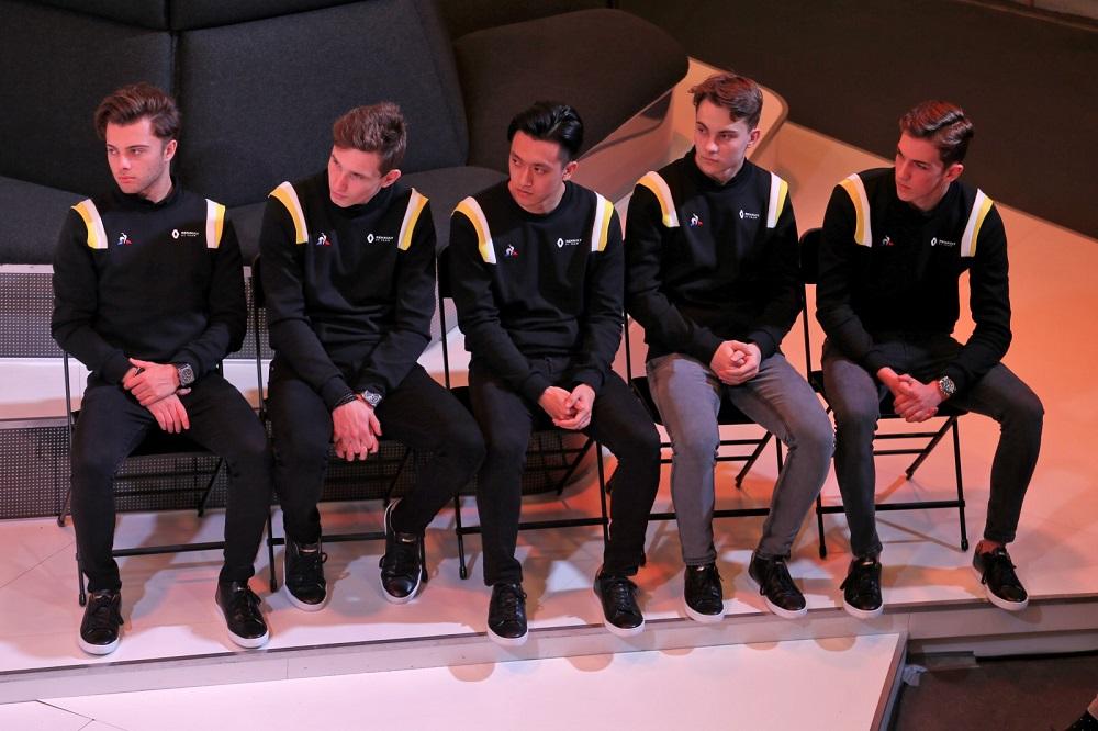 H... αφρόκρεμα των νέων ταλέντων της Renault