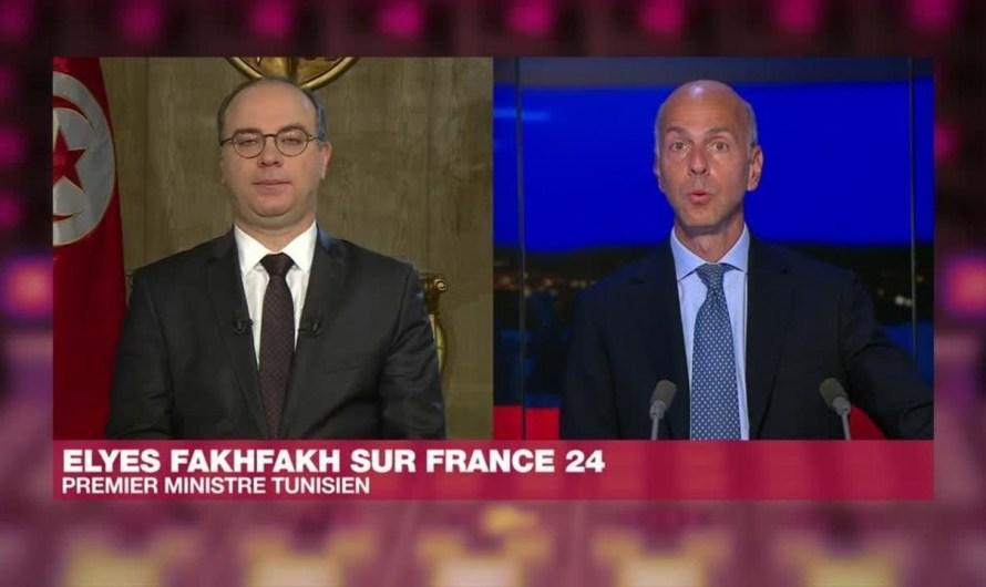 Lettre ouverte Elyes Fakhfakh / Interview France 24