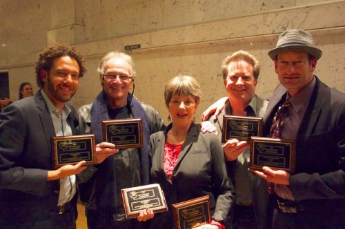Deaf West Artistic Director David Kurs, Simon Levy, Deborah Lawlor, Stephen Sachs, Troy Kotsur.