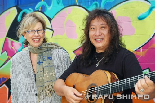 Katina Dunn and Jose Tanaka