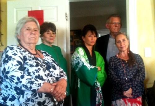 Bette Billet (left) with Deborah Lawlor, Tamlyn Tomita and Denise Blasor.