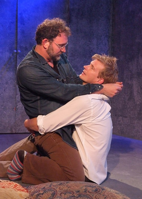 "Tim Cummings and Bill Brochtrup in ""The Normal Heart"""