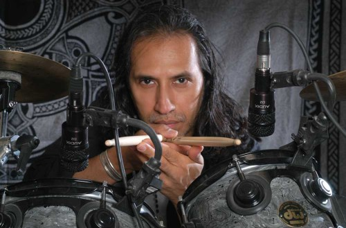 Percussionist Joey Heredia.