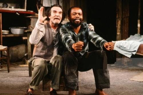 Athol Fugard and Zakes Mokae, 'The Blood Knot' (1961