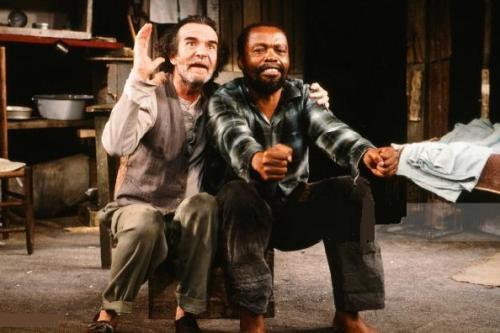 Athol Fugard and Zakes Mokae, 'The Blood Knot' (1961