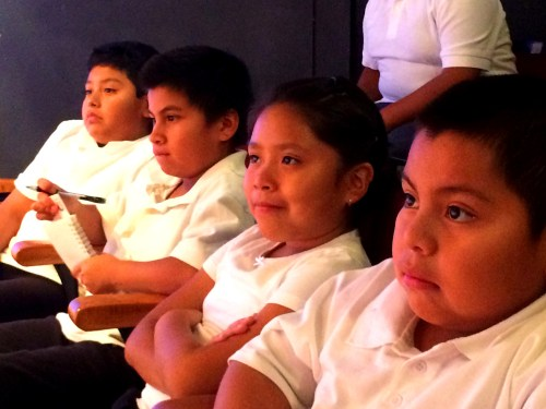 Students from Ramona Elementary School.