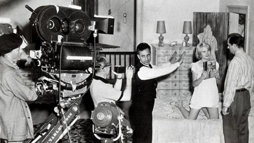 kazan directing BABY DOLL film