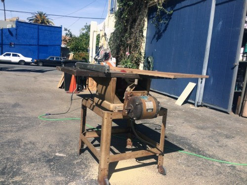 Table saw 3