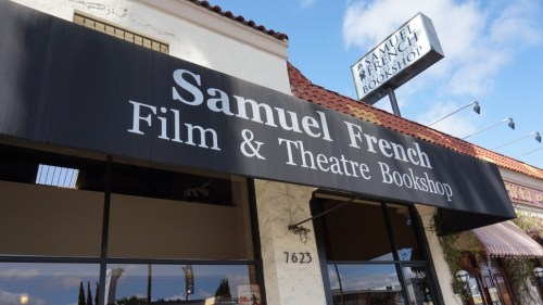 Samuel French Bookshop LA