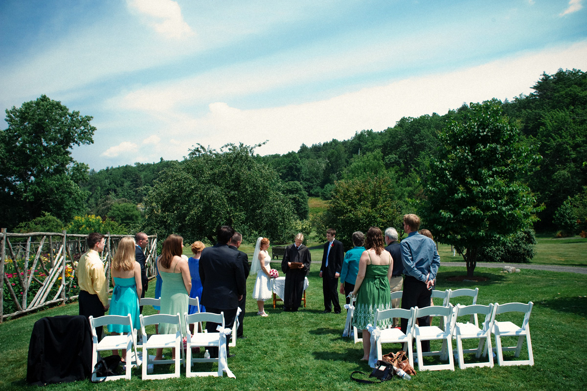 Real Weddings: Rebecca And Daniel's Lovely L'il Wedding