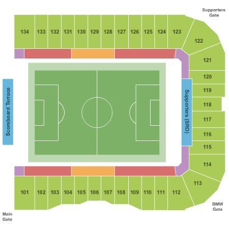 Avaya Stadium Tickets and Avaya Stadium Seating Chart - Buy Avaya Stadium San Jose Tickets CA at ...